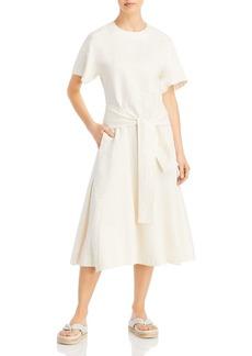 3.1 Phillip Lim Wrap Waist Tie-Front Midi Dress