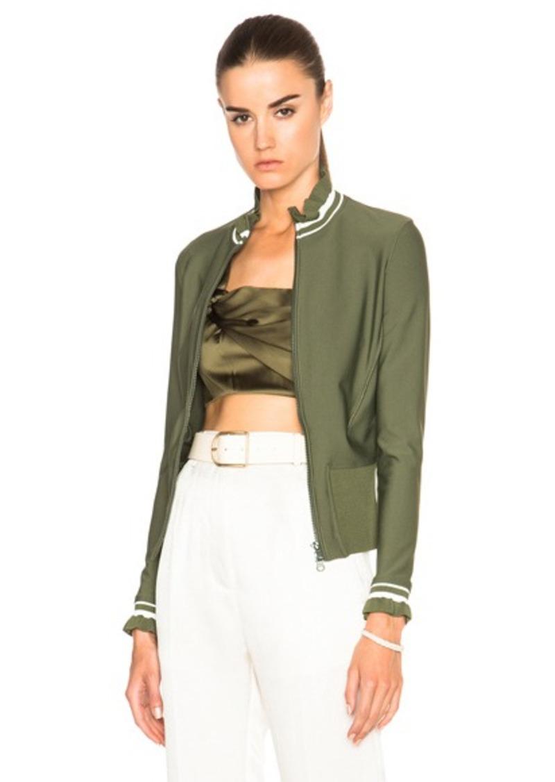 3.1 phillip lim Zigzag Finish Wetsuit Jacket