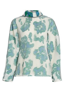 3.1 Phillip Lim Abstract Daisy Fil Coupé Top