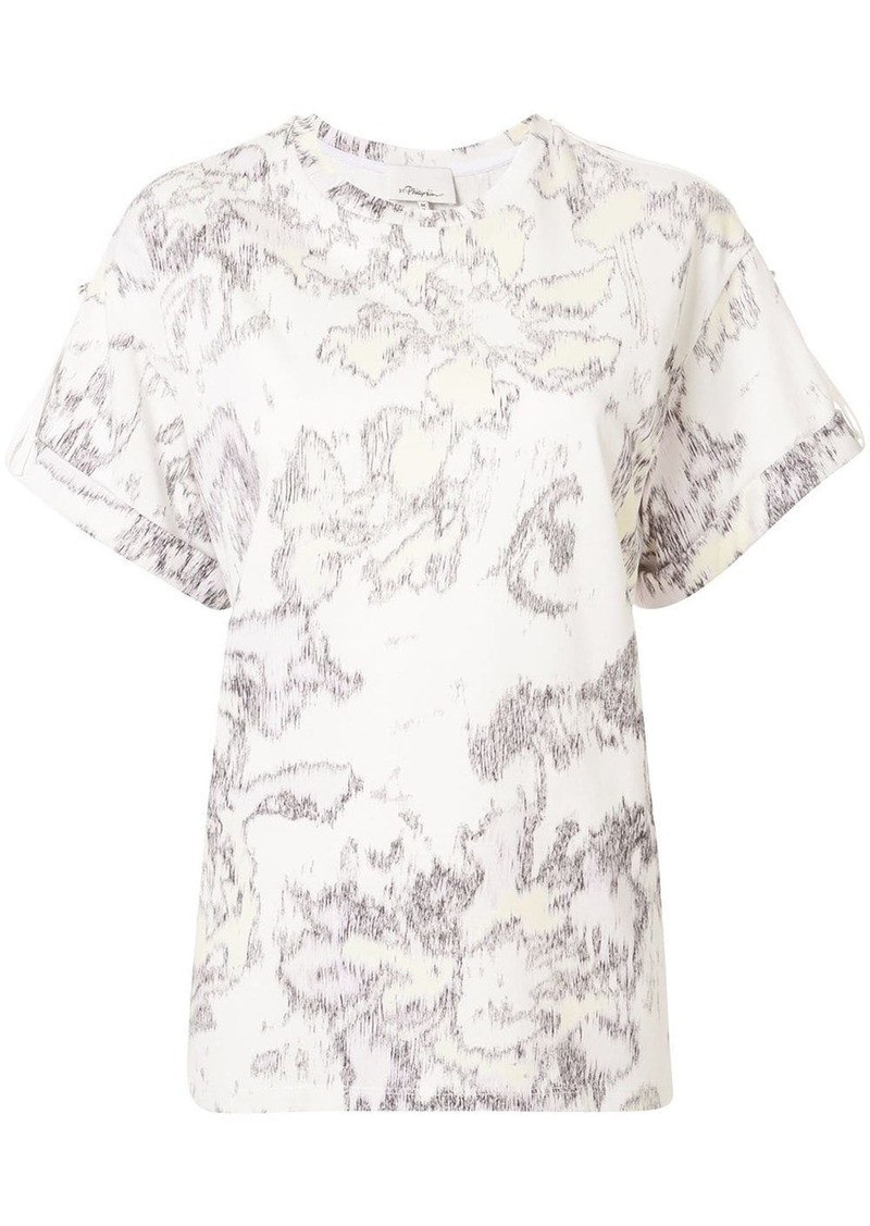 3.1 Phillip Lim abstract daisy print T-shirt