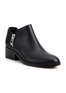 3.1 Phillip Lim Alexa Leather Zip Booties