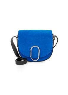 3.1 Phillip Lim Mini Alix Suede Saddle Bag