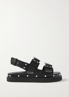 3.1 Phillip Lim Alix Studded Leather Slingback Platform Sandals