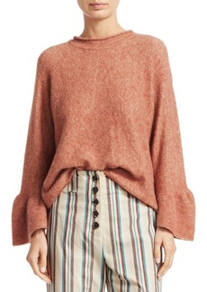 3.1 Phillip Lim Alpaca & Wool Blend Ruffle Cuff Sweater