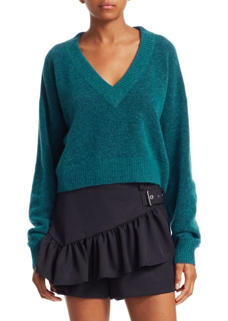 3.1 Phillip Lim Alpaca Ribbed Knit Sweater