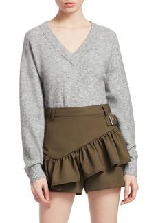 3.1 Phillip Lim Alpaca Ribbed Knit Sweater