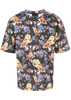 3.1 Phillip Lim Animal-print souvenir T-shirt