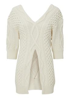 3.1 Phillip Lim Aran Cable Sweater