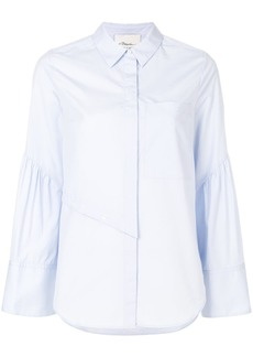 3.1 Phillip Lim asymmetric button detail shirt