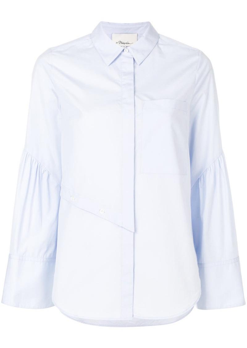 3.1 Phillip Lim asymmetric button detail shirt