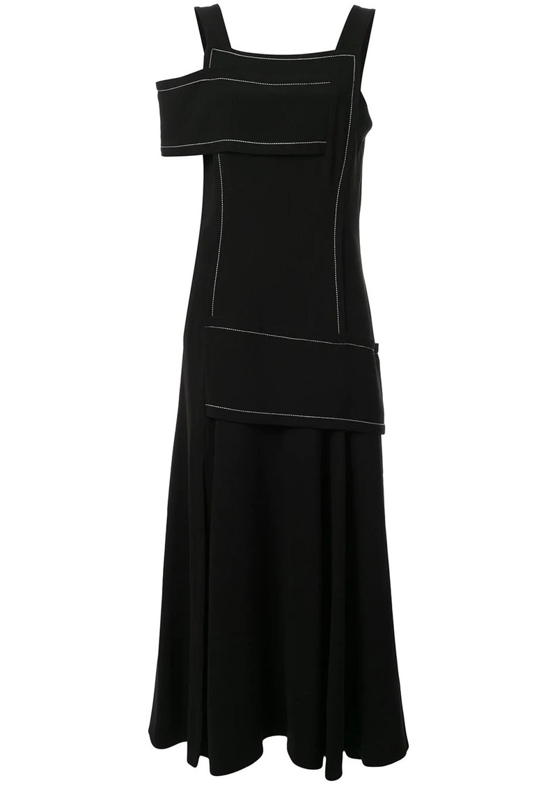 3.1 Phillip Lim asymmetric crepe dress