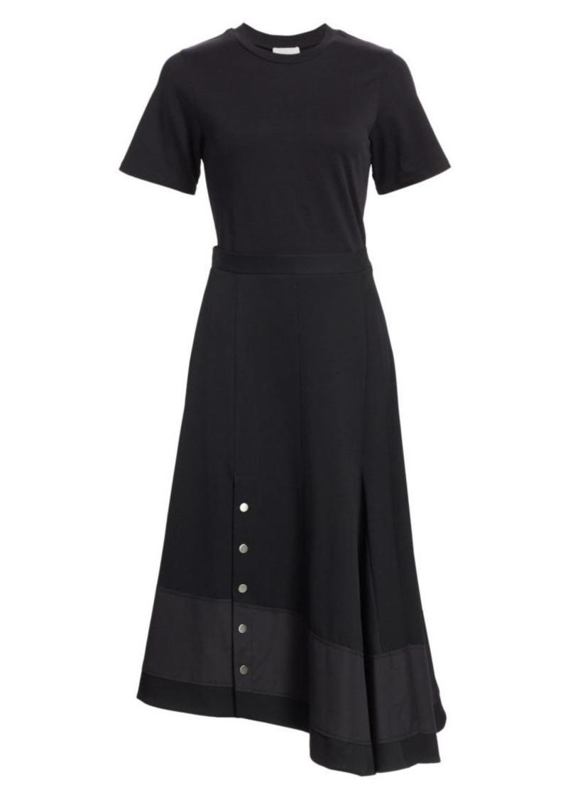 3.1 Phillip Lim Asymmetric Flare Wool Dress