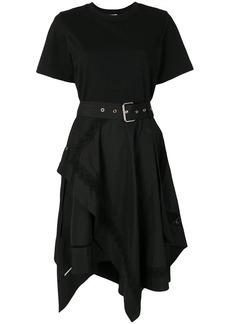3.1 Phillip Lim asymmetric-hem flared dress