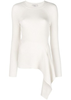 3.1 Phillip Lim asymmetric ribbed sweater