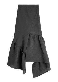 3.1 Phillip Lim Asymmetric Skirt with Cotton and Silk