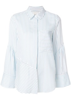 3.1 Phillip Lim asymmetric striped shirt
