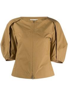 3.1 Phillip Lim puff-sleeve zipped top