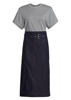 3.1 Phillip Lim Belted Cargo Midi Dress