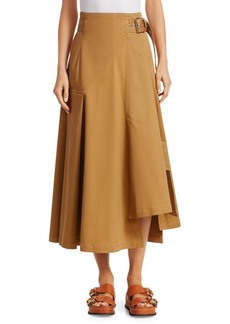 3.1 Phillip Lim Belted Cotton Utility Skirt