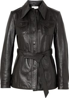 3.1 Phillip Lim Belted Leather Jacket