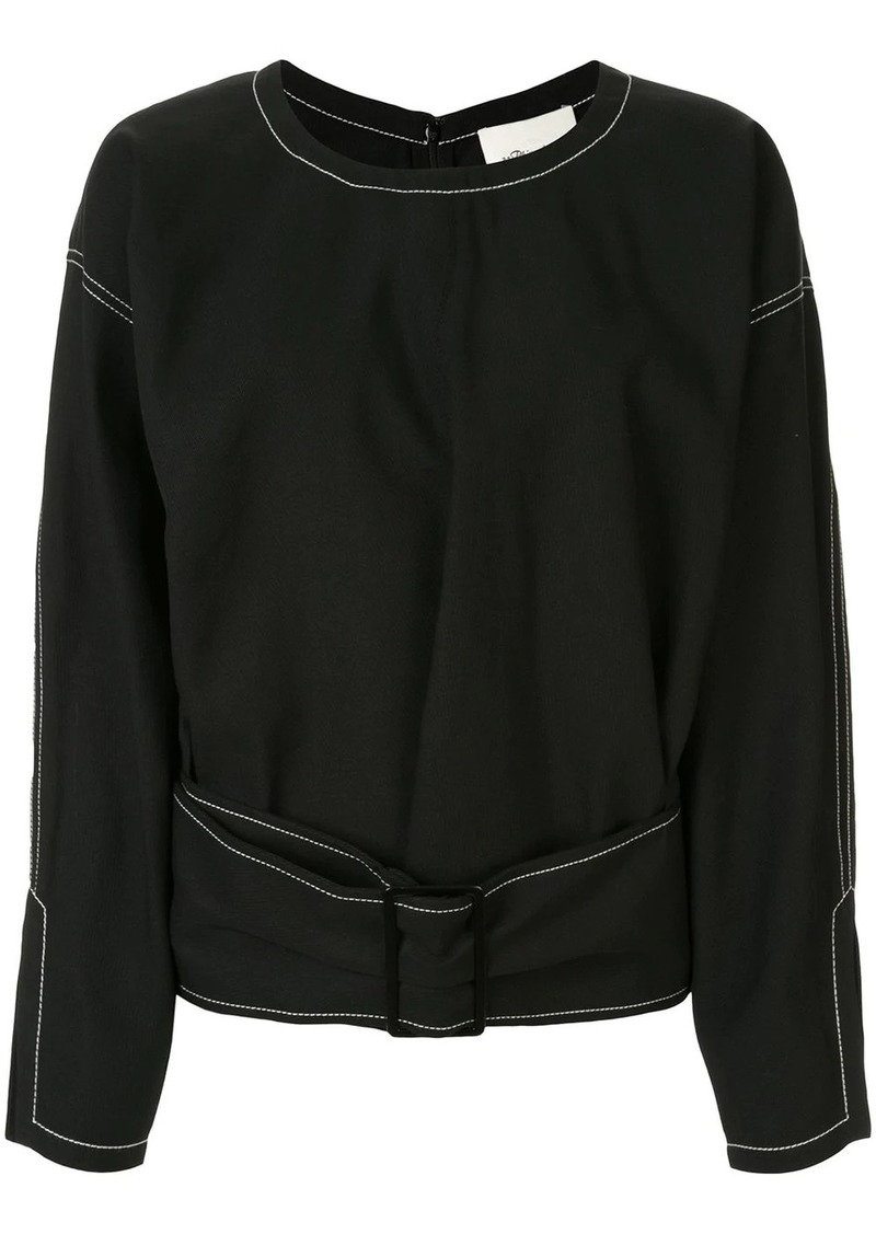 3.1 Phillip Lim belted structured top