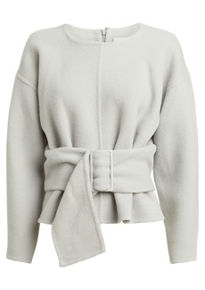 3.1 Phillip Lim Belted Wool-Blend Sweater