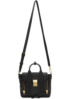 3.1 Phillip Lim Black & Gold Mini Pashli Satchel