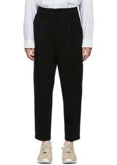 3.1 Phillip Lim Black Bonded Trousers