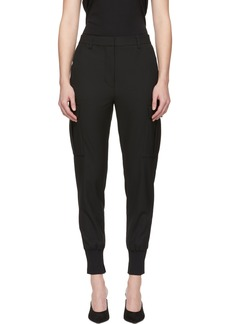 3.1 Phillip Lim Black Cargo Jogger Trousers