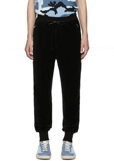 3.1 Phillip Lim Black Cropped Sweatpants