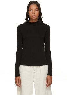3.1 Phillip Lim Black Long Sleeve Turtleneck