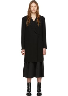 3.1 Phillip Lim Black Overlay Coat