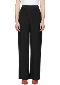 3.1 Phillip Lim Black Sateen Trousers
