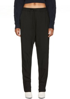 3.1 Phillip Lim Black Suiting Track Pants