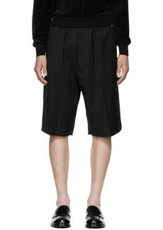3.1 Phillip Lim Black Tapered Shorts
