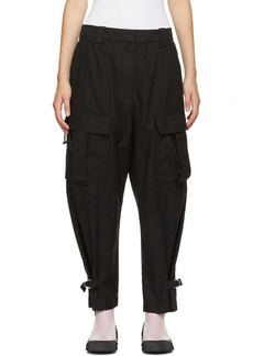 3.1 Phillip Lim Black Utility Cargo Trousers