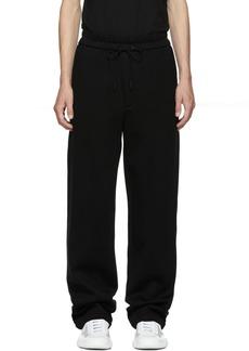 3.1 Phillip Lim Black Wide-Leg Sweatpants