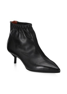 3.1 Phillip Lim Blitz Leather Kitten-Heel Boots