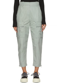 3.1 Phillip Lim Blue Utility Cargo Trousers