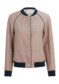 3.1 Phillip Lim Blush Lurex Tweed Jacket