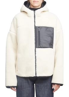 3.1 Phillip Lim Bonded Faux Shearling Sporty Jacket