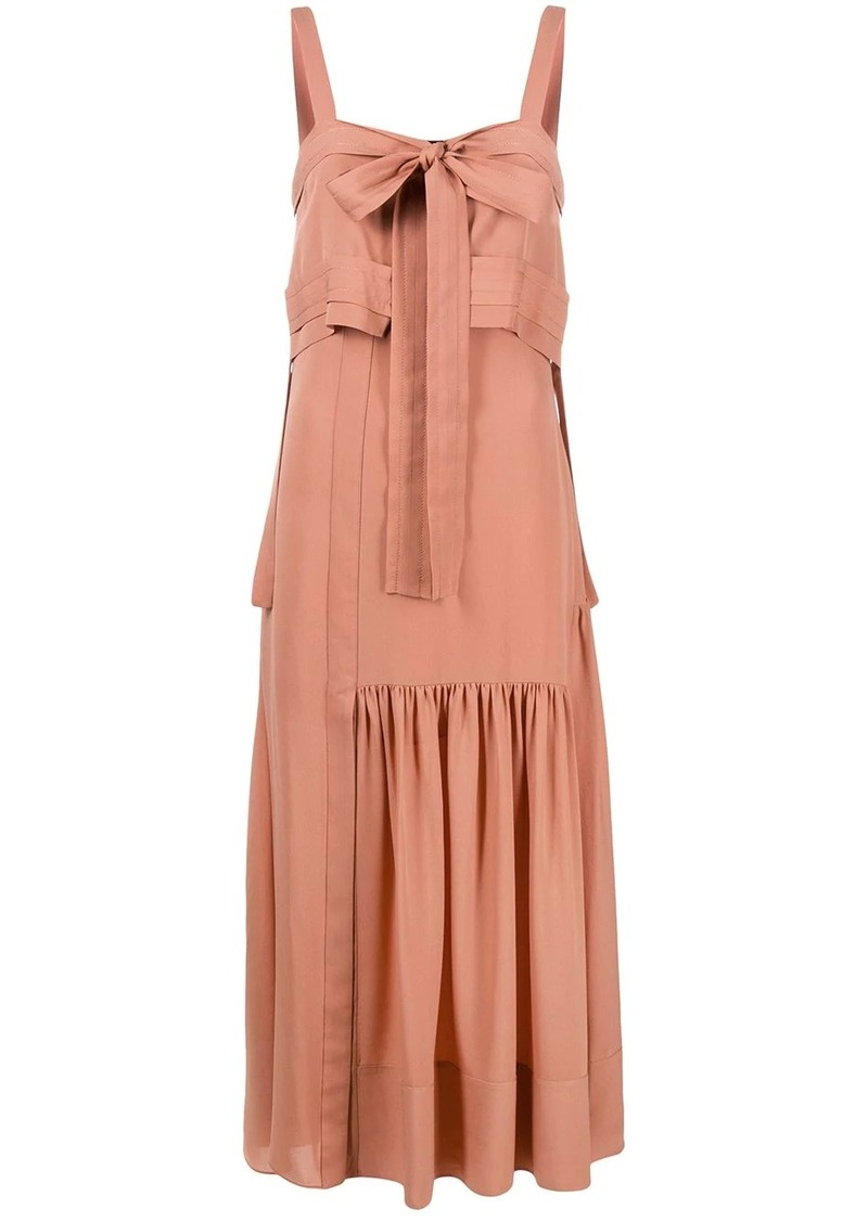 3.1 Phillip Lim bow detail flared dress