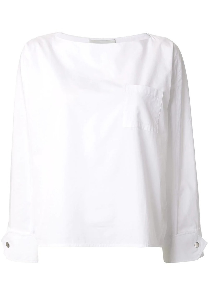 3.1 Phillip Lim boxy-fit blouse