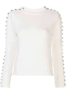 3.1 Phillip Lim button detail knitted jumper
