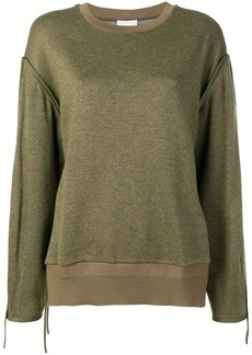 3.1 Phillip Lim Button-Shoulder Top