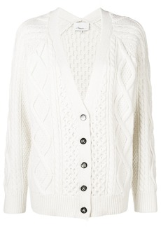 3.1 Phillip Lim cable knit V-neck cardigan