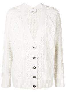 3.1 Phillip Lim cable knit V-neck cardigan