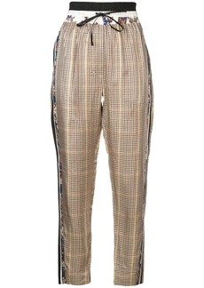 3.1 Phillip Lim checked trousers