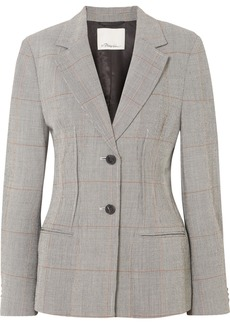 3.1 Phillip Lim Checked Wool-blend Blazer