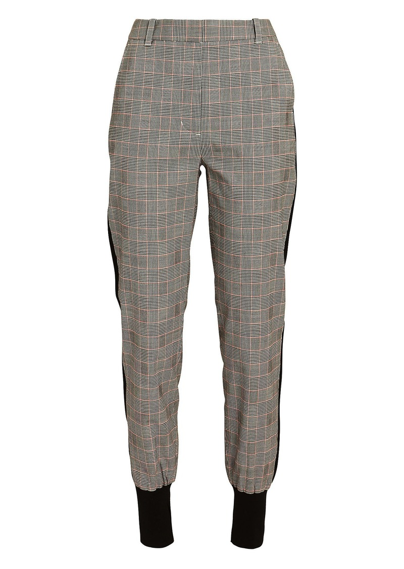 3.1 Phillip Lim Checked Wool Jogger Pants